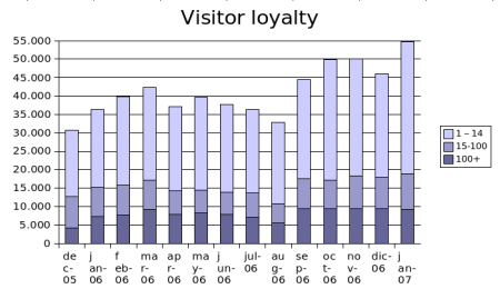 january 2007 visitor loyalty