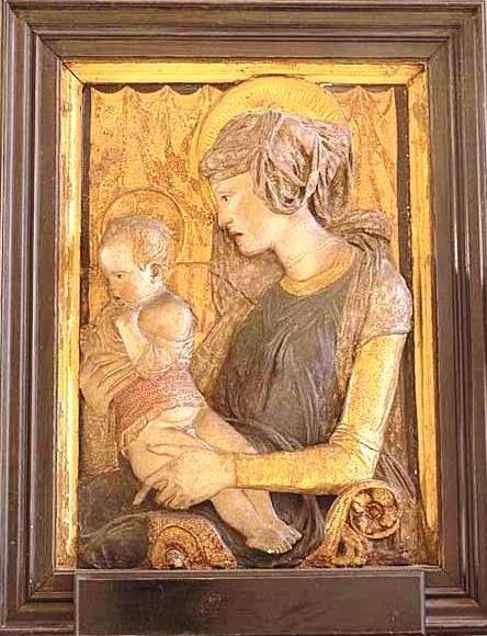 La vergine con il bambino_Museo del Louvre