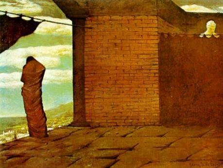 G. De Chirico L'enigma dell'oracolo, 1910