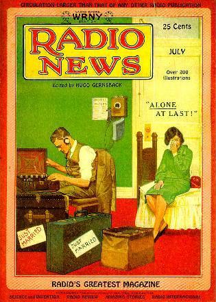Radio News July 1929