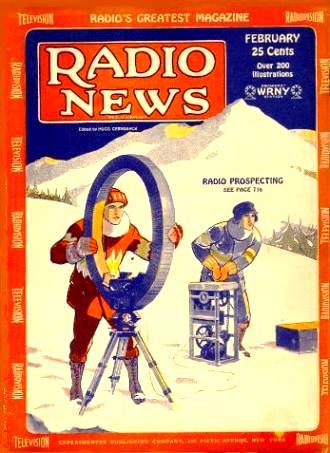 Radio News February 1929