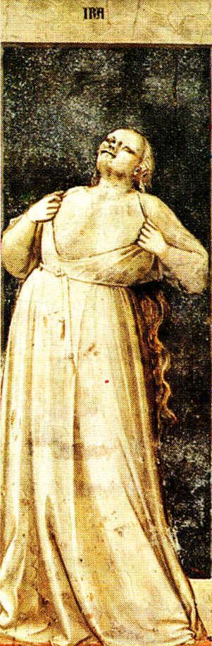 Ira_Giotto_Cappella degli Scrovegni_Padova