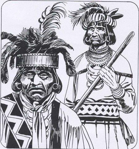 Indiani Seminoles - tavola di Lucio Filippucci