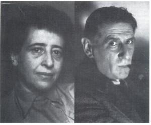 Hannah Arendt e Hermann Broch