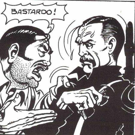 disegno di Magnus da L'uomo che uccise Ernesto Che Guevara