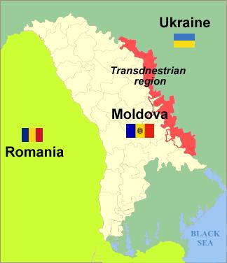 Transnistria a orologeria