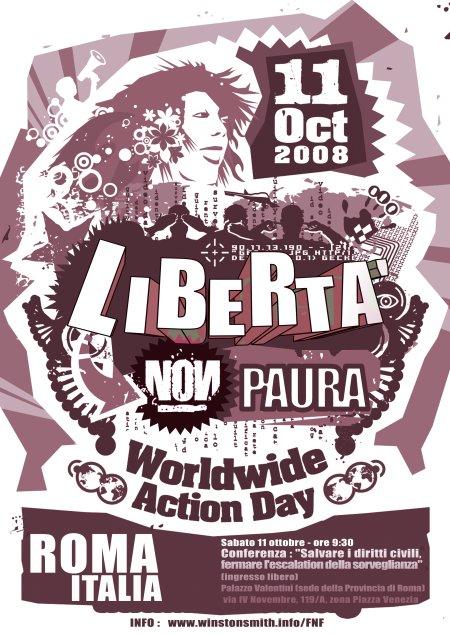 11 ottobre: libertà, non paura!