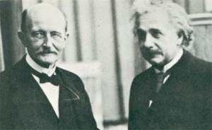 Max Planck e Albert Einstein