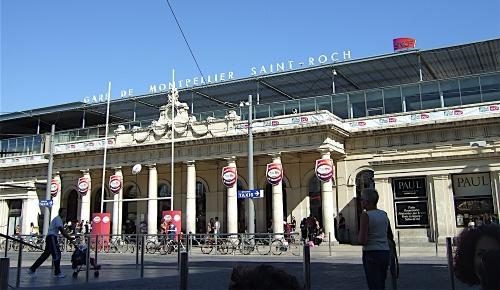 Montpellier - gare Saint Roch