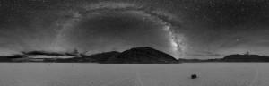 Via Lattea dalla Death Valley