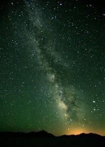 Un cartello sulla galassia