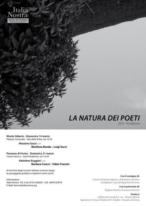 La natura dei poeti
