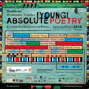 Absolute [Young] Poetry 2010 – Cantieri Internazionali di Poesia