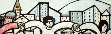 murales di Felice Pignataro