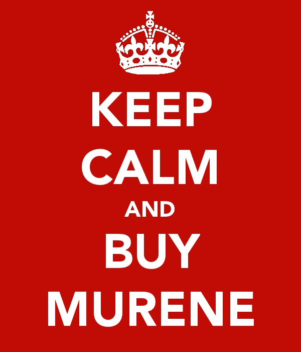 keep calm and buy murene