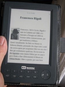 un reader piccolo: Bokeen bebook Mini 5""