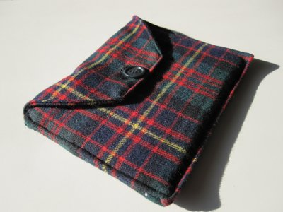 Kindle con custodia in tweed