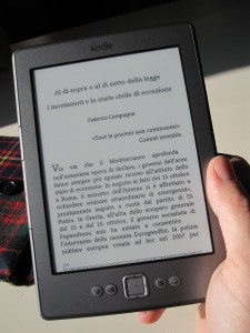 il Kindle di Amazon