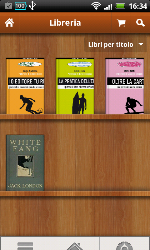 Aldiko ebook reader per Android