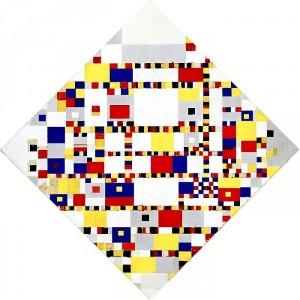 Piet Mondrian vs Città di Roma