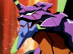 """L'Eva-01 nella sigla di """"Neon Genesis Evangelion"""""""
