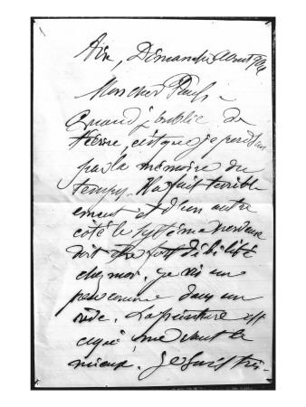 Esercizi di copiatura: 53 lettere di Paul Cézanne