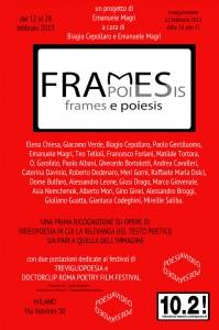 Camera con vista : Frames e Poiesis