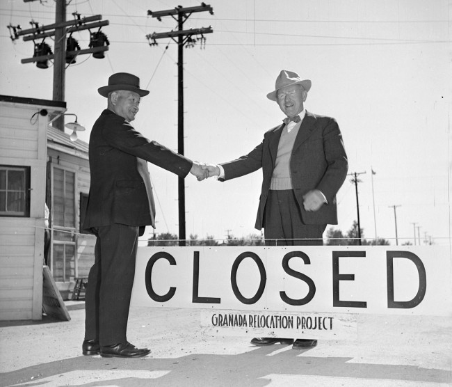 After the orders to-relocate and detain-persons of Japanese ancestry were  rescinded evacuees began returning home and camps began to close.