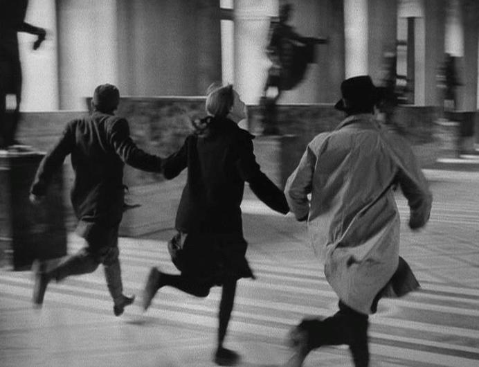 Fotogramma tratto da Bane à part, di Jean-Luc Godard, 1964