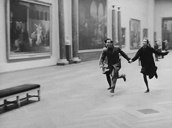 Fotogramma tratto da Bande à part, di Jean-Luc Godard, 1964