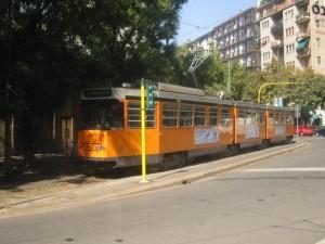 tram in viale Corsica