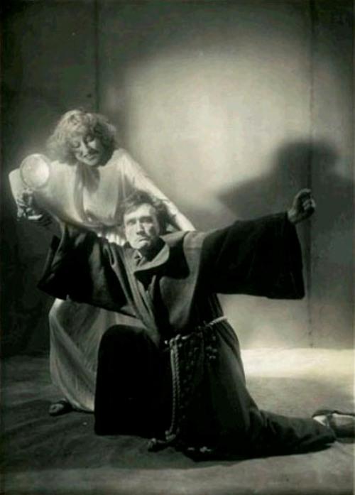 Antonin Artaud et Cécile Brusson pour Le Moine de Matthew Gregory Lewis