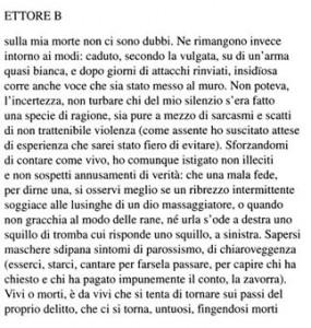 """Sette pagine da """"Cefalonia"""" di Luigi Ballerini"""