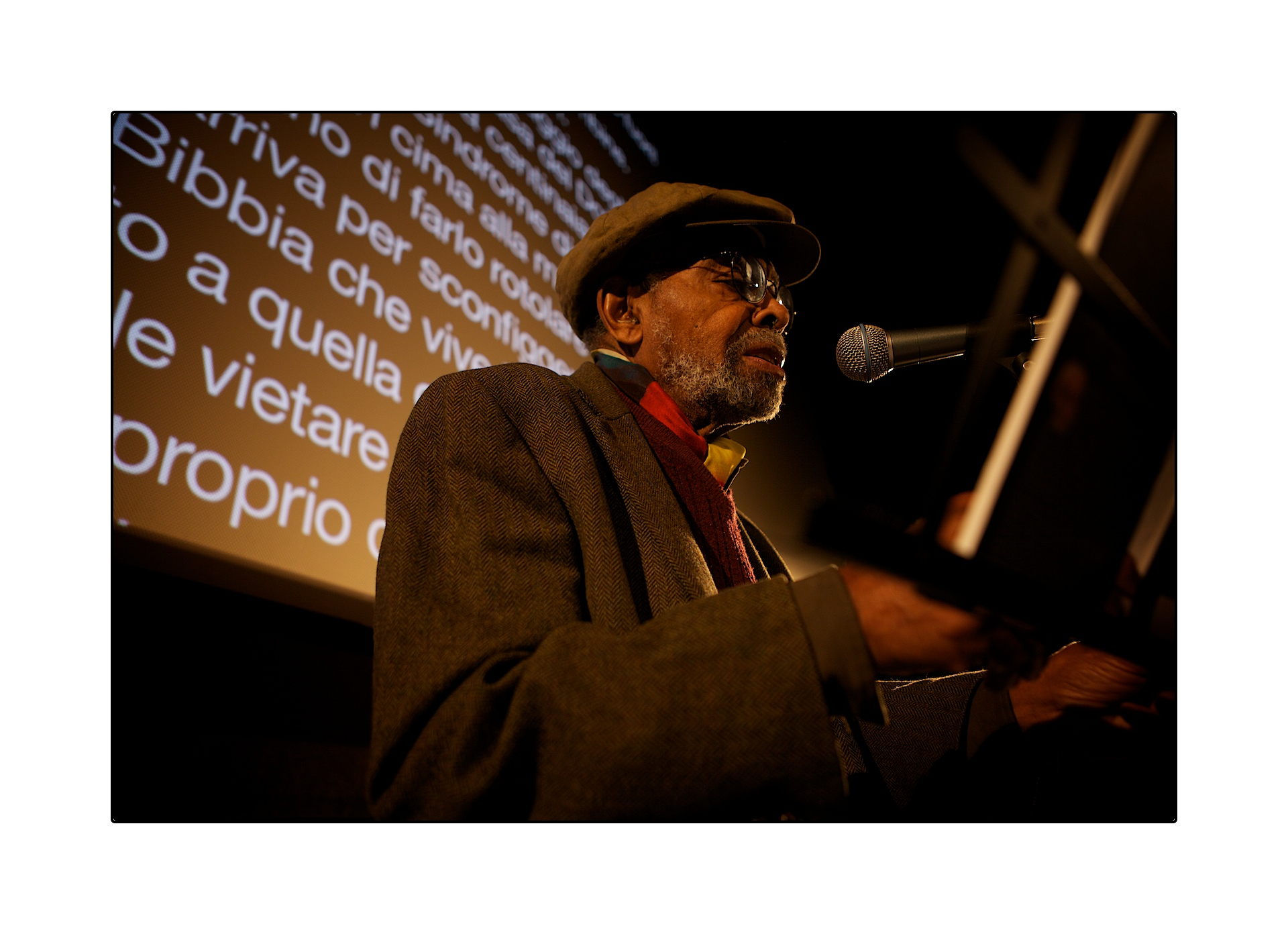 Amiri Baraka at Doctoclip 2013