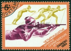 16372592-urss--circa-1984-francobollo-stampato-in-russia-urss-mostra-un-biathlon-con-l-39-iscrizione-e-il-nom