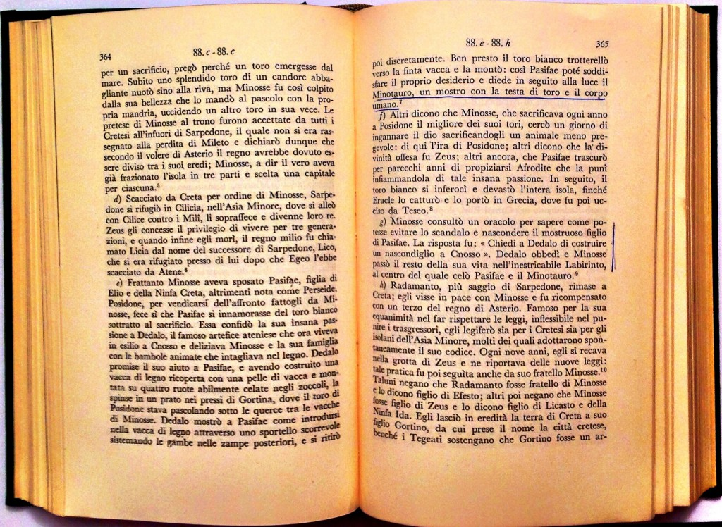 Robert Graves, I miti greci, Longanesi, Milano 1963.