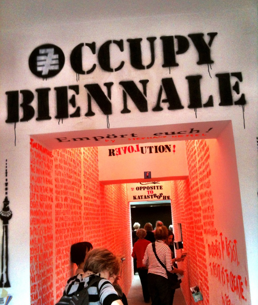 Occupy Biennale, Berlino 2012