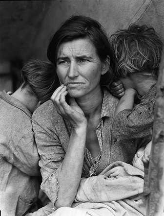 Migrant mother (Dorothea Lange): un'icona americana