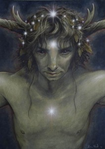 "Brian Froud, Satyr ""Himself"""