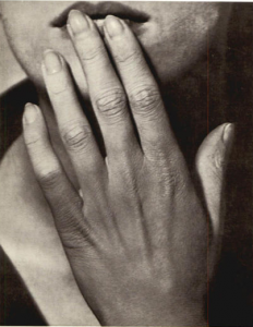 Man Ray, Hand on lips