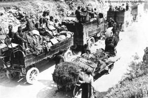 profughi italiani in_fuga-caporetto