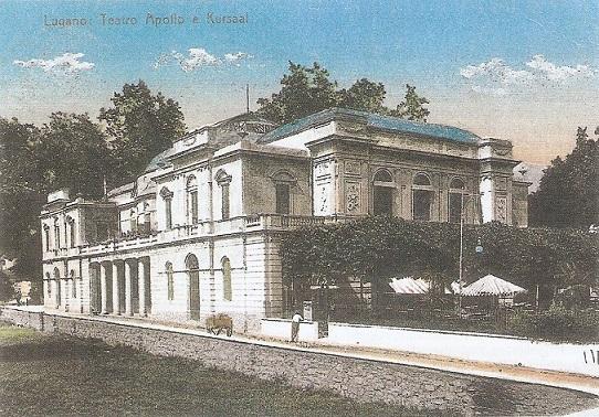Teatro Apollo e Kursaal Lugano 1987