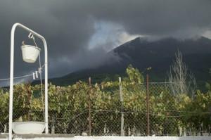Vesuvio, immagine del documentario Sul Vulcano