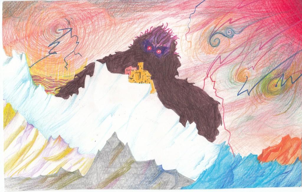 Michele Mari, disegno per «Di bestia in bestia»