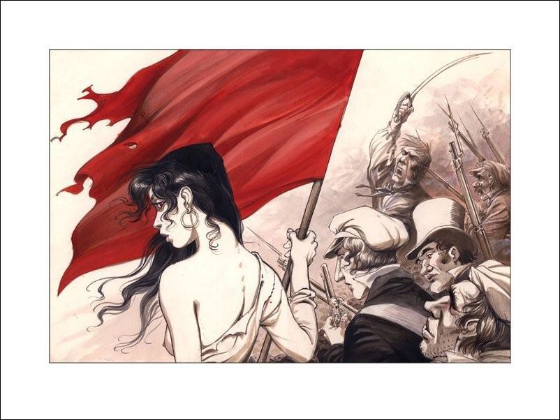 Estampe-Drapeau-Rouge-1gd