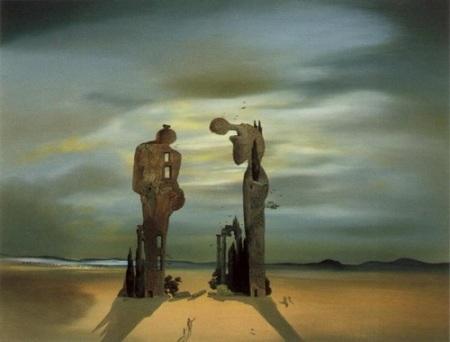 Reminiscenza archeologica dell'Angelus di Millet (1936) S. Dalì