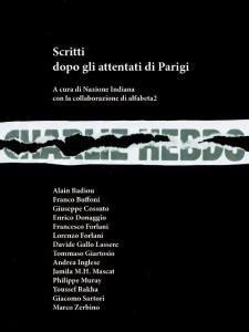 Scritti dopo gli attentati di Parigi – un e-book di Nazione Indiana