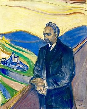 Friedrich Nietzsche ritratto da Munch nel 1906