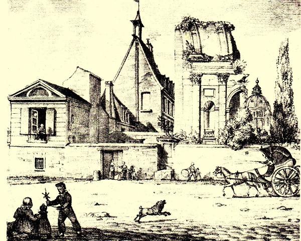 Il convento dei Feuillantines
