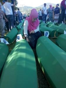 Srebrenica, commemorazione per il 20esimo anniversario del genocidio (11 luglio 2005)